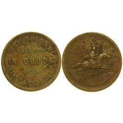 Hiatt & Co. Osage Trader Token Indian Territory