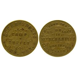 Lee & Reynolds Token Indian Territory