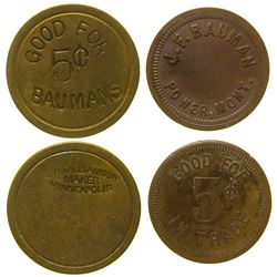 Two Bauman Tokens Power Montana