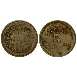 J. B. W.  Token Hastings Nebraska