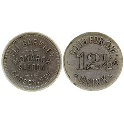 Monarch Saloon Token Carson City Nevada