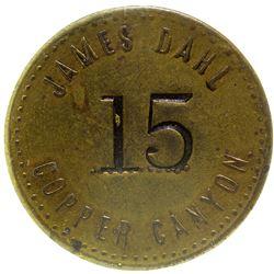 James Dahl Token Copper Canyon Nevada