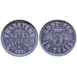 Franktown Hotel Token Franktown Nevada