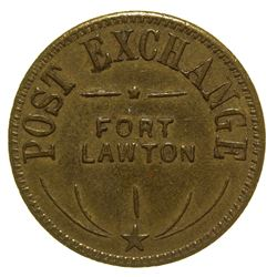 Post Exchange Token Fort Lawton Washington