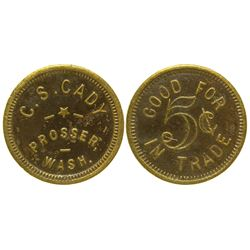 C.S. Cady Token Prosser Washington