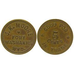J.K. Moore Token Fort Washakie Wyoming