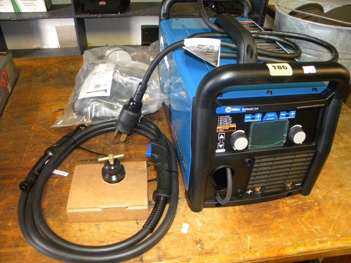 Miller Multimatic 215 >> New Miller Multimatic 215 Welder With Acc In Office