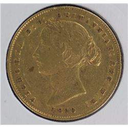 1870 Sydney Mint Sovereign