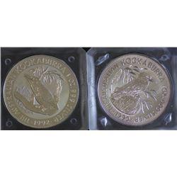 Kookaburras 1990 & 1992 1 ounce