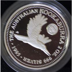 Kookaburra 2 Ounce Privy 1995 Canberra Florin