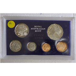 1970 Australian Proof set, Foams Plus Cert