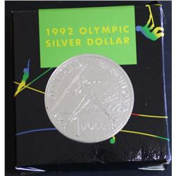 1992 Olympic Silver proof dollar