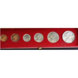 Australia Dec Coins in red box 1c to silver 50c