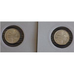 Australia 3 Pence 1938, 1942s Choice Unc Ex Wilson