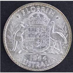 1944S Florin Gem Unc