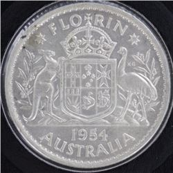 1954 Florin Choice Uncirculated