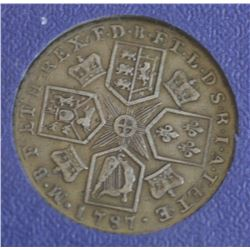 GB Proclamation 1787 Shilling , Fine