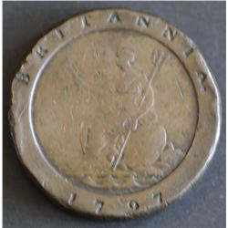 GB Cartwheel two pence 1797