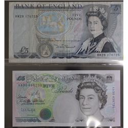Bank of England 5 Pounds (2)