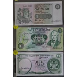 Bank of Scotland 1 pounds (3)