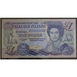 Falklands 1 pound