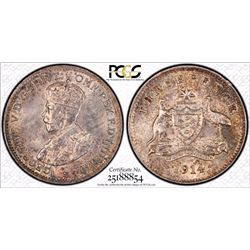 1914 Threepence PCGS MS 63