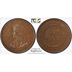 1925 Penny PCGS XF 45