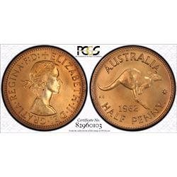 1962 Perth Proof Pair, PCGS  PR 65 Red