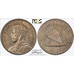 Fiji Shilling 1934 PCGS MS 63