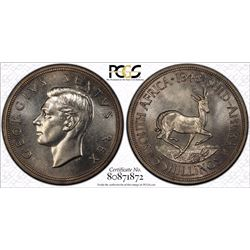 South Africa Crown 1948 PCGS PR 64