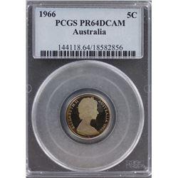 Australia 5c 1966 PR 64 DCAM