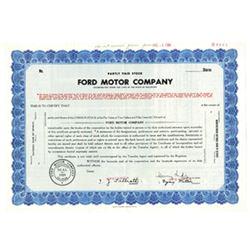 Ford Motor Co., 1965 Specimen Stock