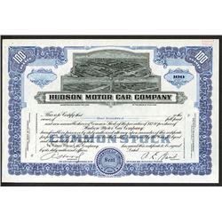 Hudson Motor Car Co. ca.1940-1950 Uniface Proof Stock Certificate.