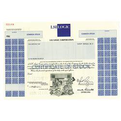 LSI Logic Corp., 1993 Specimen Stock Certificate