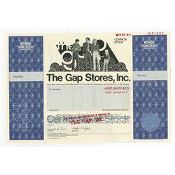 Gap Stores, Inc., 1983 Specimen Stock