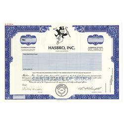 Hasbro, Inc., 2000 Specimen Stock