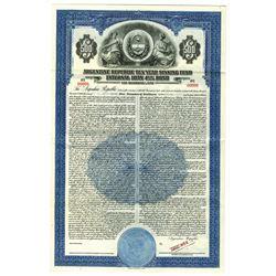 Argentine Republic, 1938 Specimen Bond