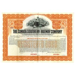 Canada Southern Railway Co., ca.1900-1920 Specimen Bond
