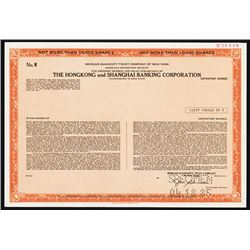 Hongkong & Kowloon Wharf & Godwin CO., Ltd., 1985 Specimen Stock Certificate