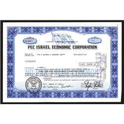 PEC Israel Economic Corporation. 1980.