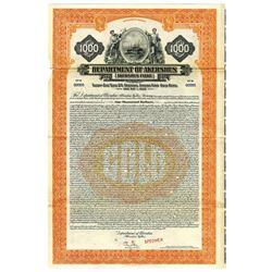 Department of Akershus, 1928 Specimen Bond