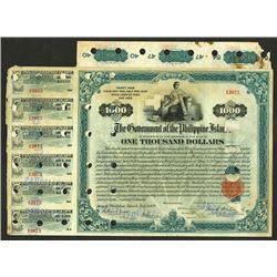 Extremely Rare BEP Printed Philippine Bond
