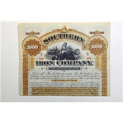 Southern Iron Co. 1890.