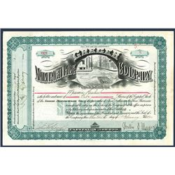 Greger Manufacturing Co. Issued Stock.