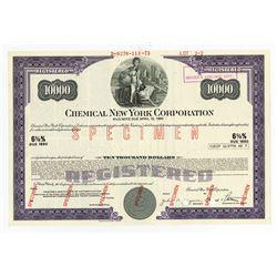 Chemical New York Corp., ca.1960 Specimen Bond