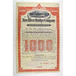 New River Bridge Co. 1888, Specimen Stock