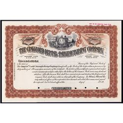 Crawford Dental Manufacturing Co., ca.1900-1920 Specimen Stock Certificate