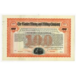 Banker Mining and Milling Co., ca.1900-1910 Specimen Bond