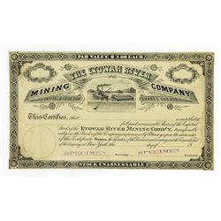 Etowah River Mining Co., ca.1880-1890 Specimen Stock