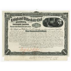Lehigh and Wilkshire Coal Co., 1879 Proof Bond